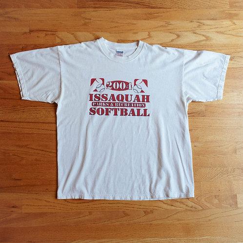 2004 Issaquah P&R Softball T-Shirt (XL)