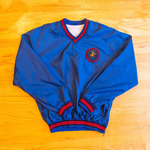 80s/90s Beverly Hills Polo Club Windbreaker Pullover (XL)