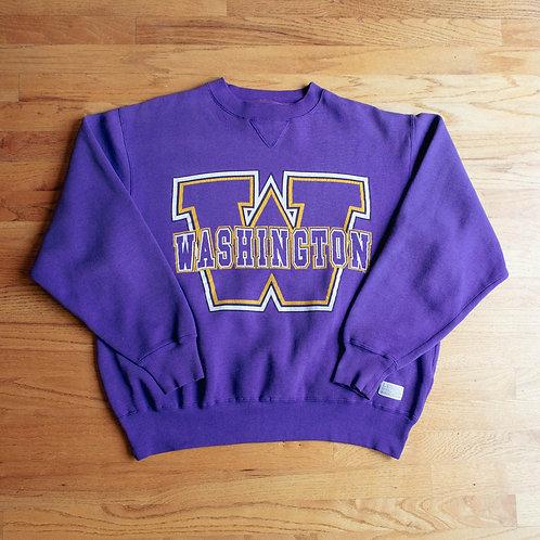 90s Washington Huskies Crewneck (XL)