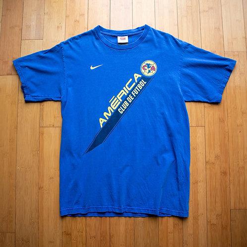 00s Nike Club America T-Shirt (M)