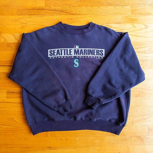 00s Mariners x Majestic Crewneck (L)