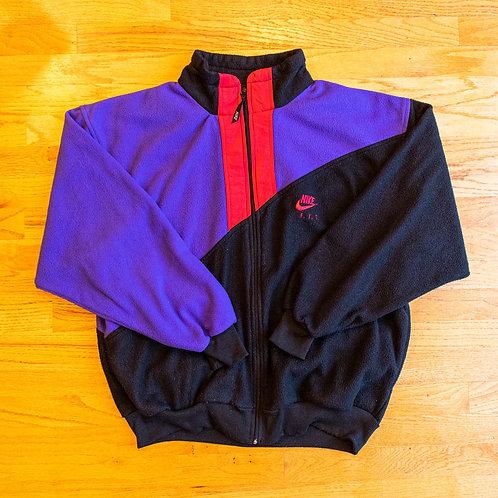 90s Nike F.I.T. Full-Zip Fleece Jacket (L)