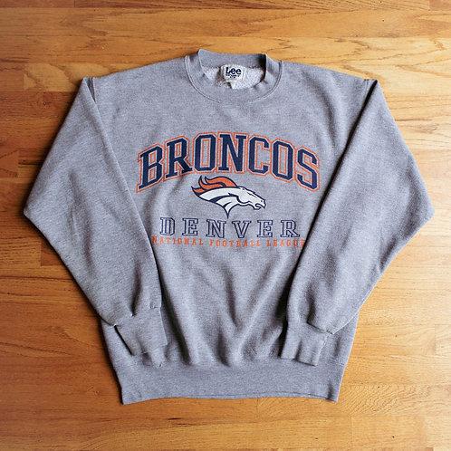 90s Denver Broncos Crewneck (M)