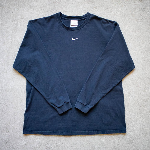 00s Nike Center Swoosh Long Sleeve Shirt (L)