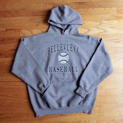 90s Bellevue Community College Baseball Hoodie (XL)