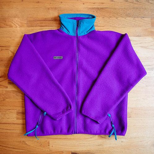 90s Columbia Full-Zip Fleece Jacket (M)