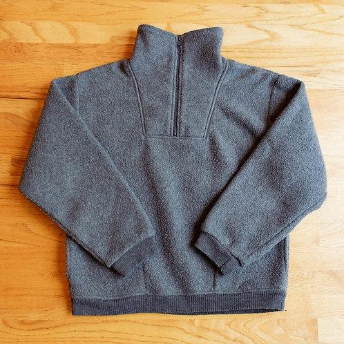 80s Polar Fleece Half-Zip Pullover (S)