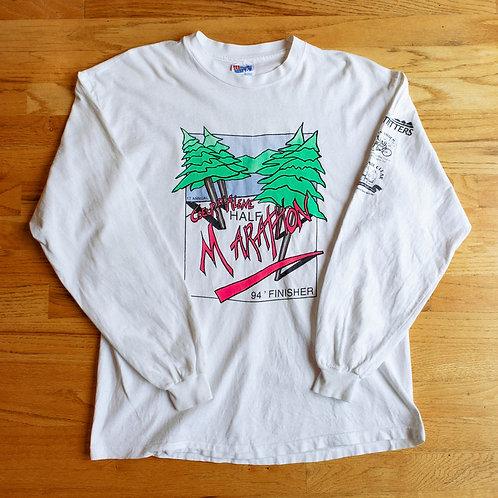 1994 Coeur d'Alene Half Marathon Long Sleeve Shirt (L)