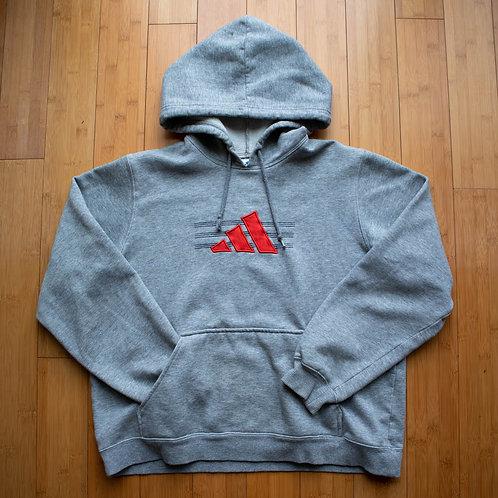 00s Adidas Stripes Hoodie (M)