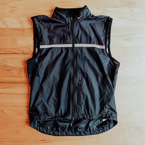 00s Nike Reflective Full-Zip Running Vest (M)