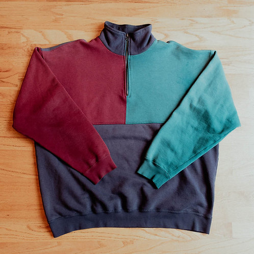 Great Northwest Clothing Company Half-Zip Sweatshirt (XL)