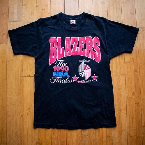 Portland Trail Blazers 1990 NBA Finals T-Shirt (L)