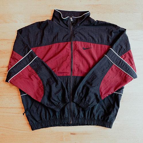 90s Nike Full-Zip Windbreaker Jacket (L)