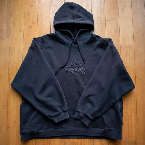 00s Adidas Outline Hoodie (L)