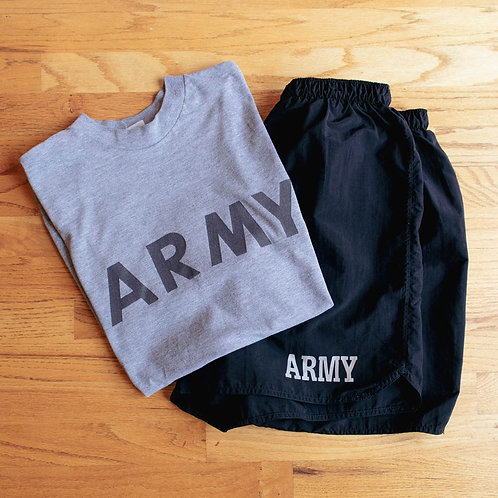 Army Issued Physical Fitness Uniform Set (M/L)