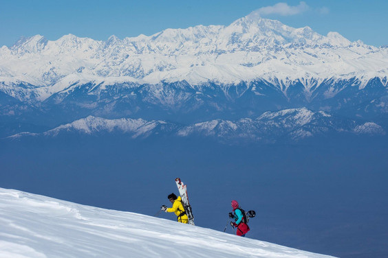 Best Places for Skiing in India