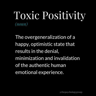 Get rid of the toxic positivity post Covid 19. Our Plans are shattered, how can we use the strength