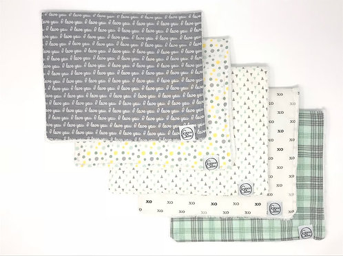 Burp Cloths - Stacey Collection