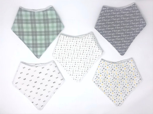 Bandanna Bibs - Stacey Collection