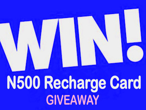 N500 Recharge Card Giveaway