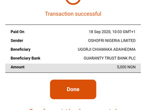 Mhiz Ada has Been Credited For Winning Emteji_logistics N5000 Cash Giveaway