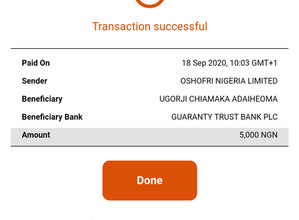 Mhiz Ada has Been Credited For Winning Emteji_logistics N5000 Cash Giveaway