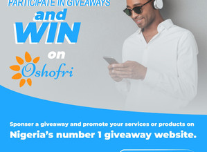 Things You Need To Know To Win Giveaways On Oshofri