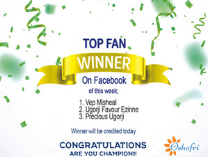Congrats To Our Top Fan Of This Week