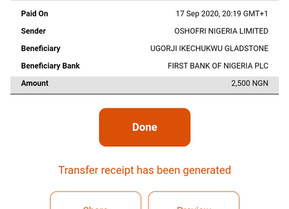 Winners Of 5k Recharge Card Giveaway To Two Lucky New Members Has Been Credited