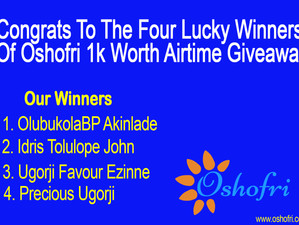 Congrats To The Four Lucky Winners