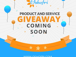 Products And Services Giveaways Are Coming Soon!