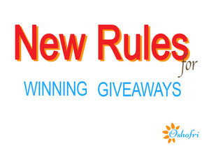New Rules For Winning Giveaways