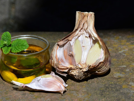 Knoblauch- Öl ist low FODMAP