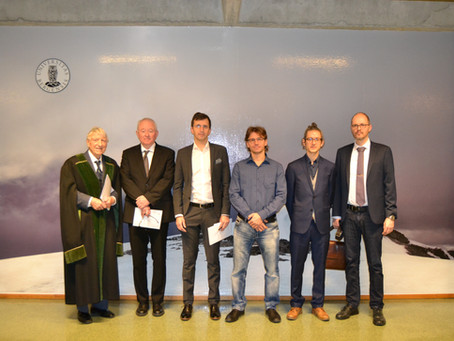 Evgueni Dinvay defended his PhD thesis
