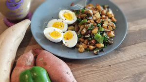 Enjoy A Little Sweetness!! Sweet Potato Hash