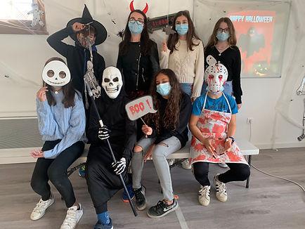 Happy English Teens Halloween