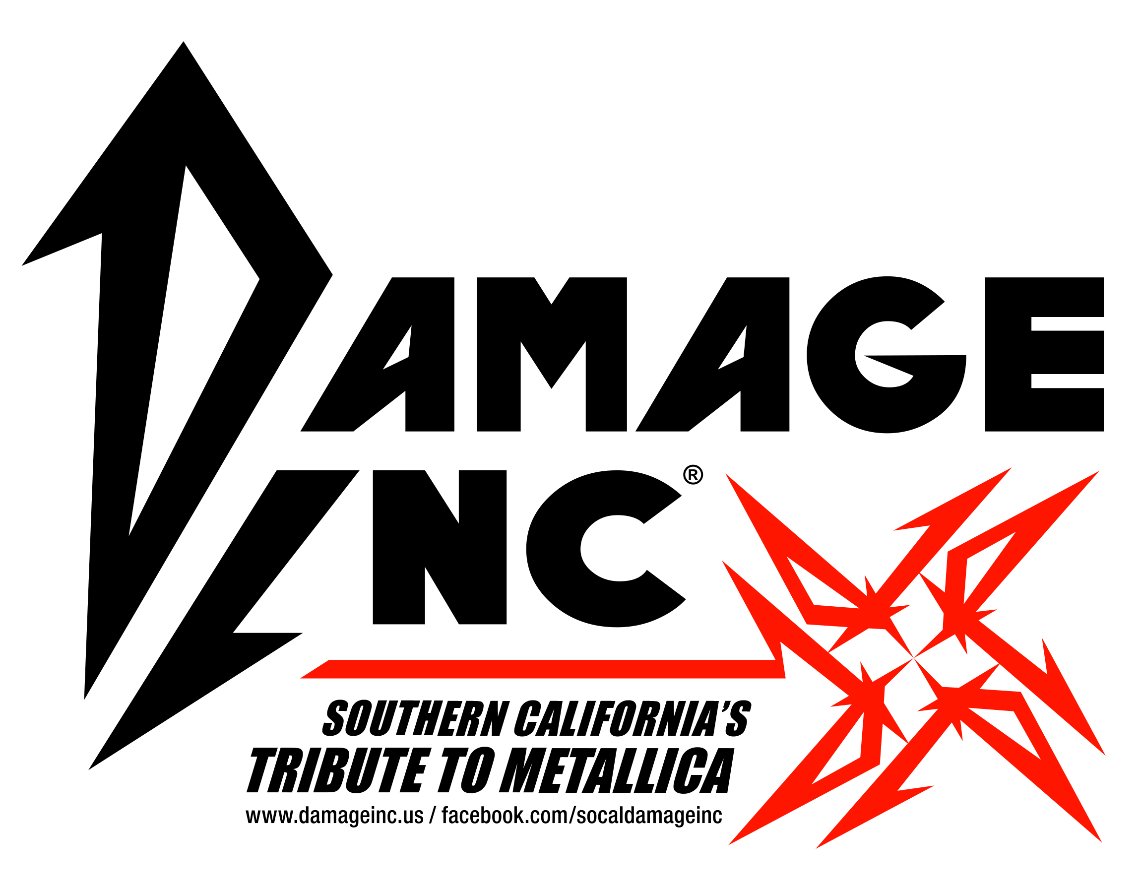 Black and Red Logo