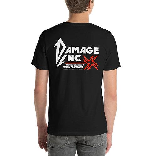 Damage Inc Logo - Short-Sleeve Unisex T-Shirt