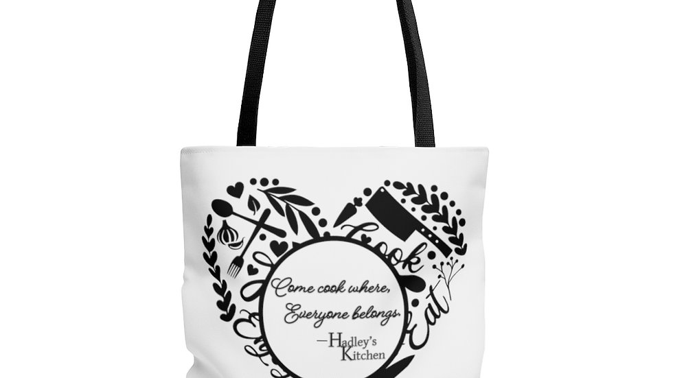 Tote Bag- Come cook where everyone belongs.