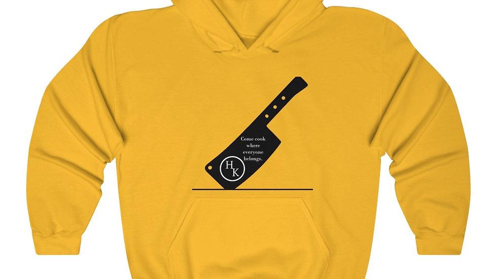 Unisex Heavy Blend™ Hooded Sweatshirt- Cleaver Logo