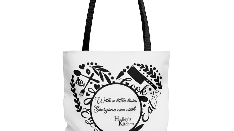 Tote Bag- With a little love, everyone can cook