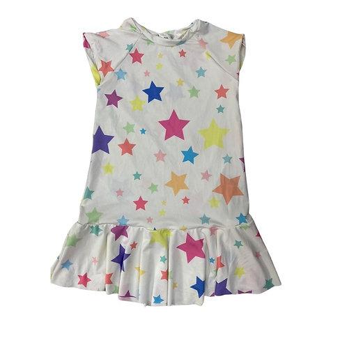 Vestido Estrelas Off White