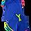 Thumbnail: Conjunto Shorts e Blusa de Pompom Azul
