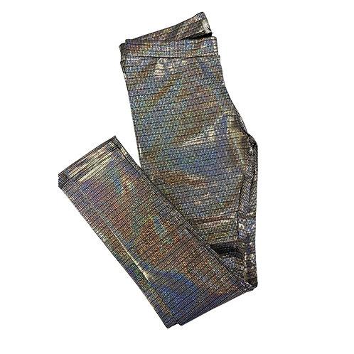 Legging brilho textura