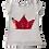 Thumbnail: Camiseta coroa lantejoula vai e vem com pompom