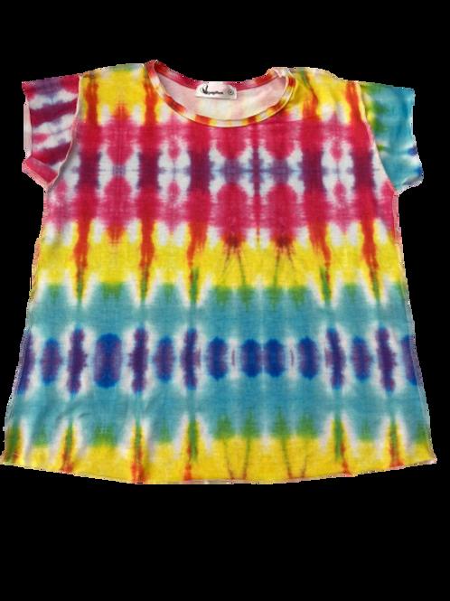 Camiseta Tie Dye Colorida