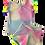 Thumbnail: Conjunto Shorts e Blusa de Pompom Tie Dye