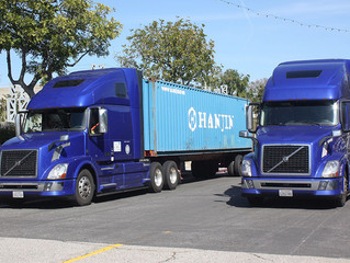 Caltrans, Volvo Test Truck Platooning on Busy Los Angeles Freeway