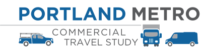 portland metro commercial travel study