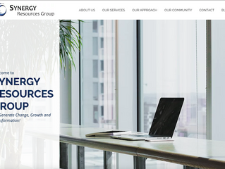 Synergy Resources Group is Live!